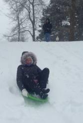 Judi sledding 2015